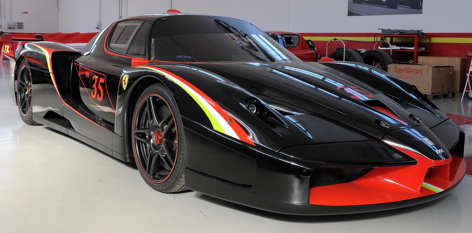 ferrari fxx evoluzione vintage cars. Black Bedroom Furniture Sets. Home Design Ideas