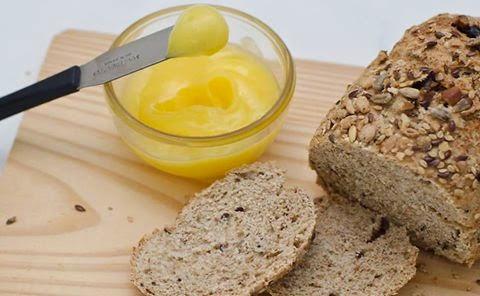 Manteiga Ghee -  Saiba tudo sobre a Manteiga caseira clarificada e sem lactose.