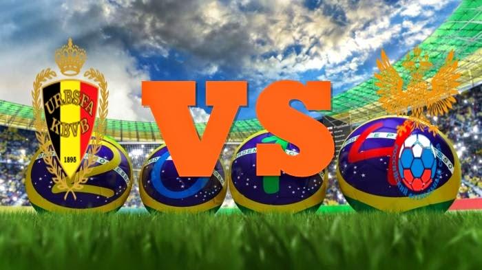 Prediksi Skor FIFA World Cup Terjitu Belgia vs Rusia jadwal 22 Juni 2014