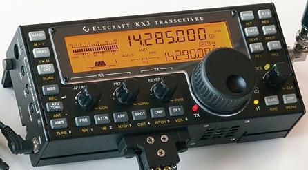 Stock photo of Elecraft KX3
