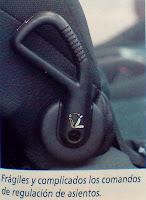 interior manija asiento Peugeot 206 xs 1.6