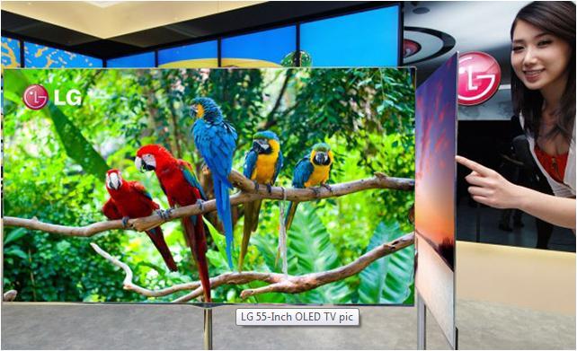 LG OLED TV Thin