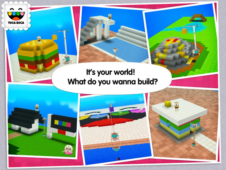 Toca Builders App iTunes App By Toca Boca AB - FreeApps.ws