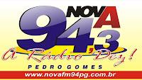 Rádio Nova FM 94 de Pedro Gomes ao vivo