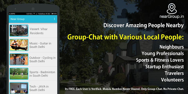 nearGroup.in App