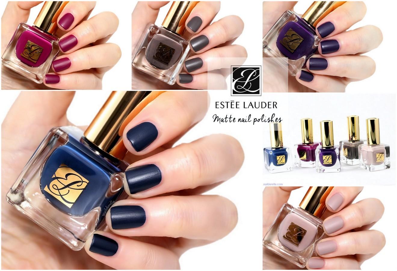 Estée Lauder - Matte nail polishes | Nailderella | Bloglovin\'