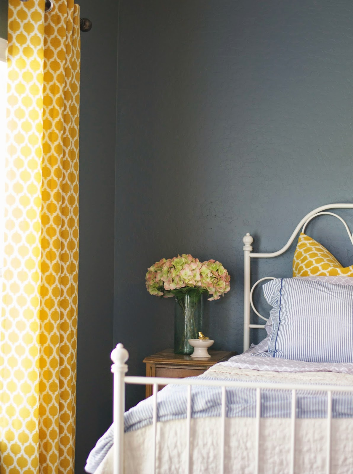 Confessions of a decorator Taking Risks & our navy blue