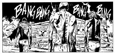 Una vignetta tratta da Zagor #552 Lo scettro di Tin-hinan