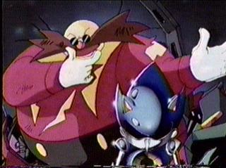 Robotnik & Hyper Metal Sonic