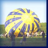 """видеорепортаж с непотопляемого воздушного шара - фестиваля авторской песни """"Заозерье""""!"""