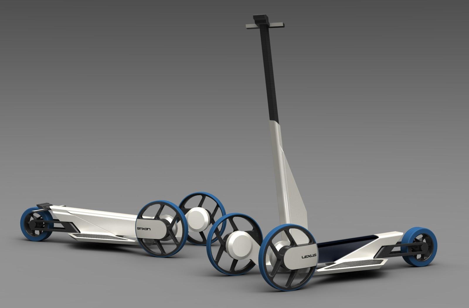 ziman konstantin h2scoot lexus hydrogen scooter. Black Bedroom Furniture Sets. Home Design Ideas
