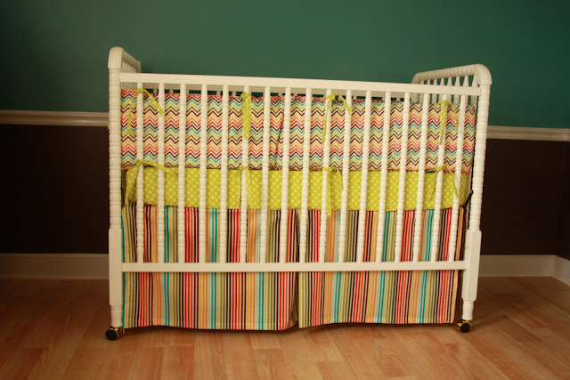 dickerson diaries crib sheet tutorial. Black Bedroom Furniture Sets. Home Design Ideas