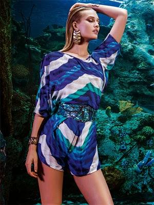 Água de Coco moda praia feminina verão 2015 macacão