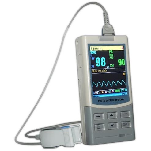 deluxe handheld pulse oximeter