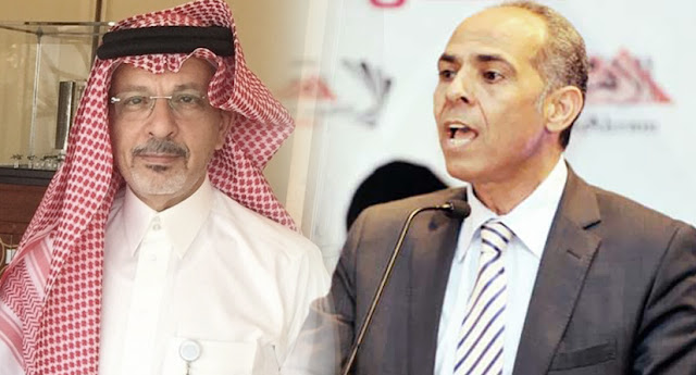 السفير السعودي بالقاهرة و رئيس مجلس إدارة الأهرام