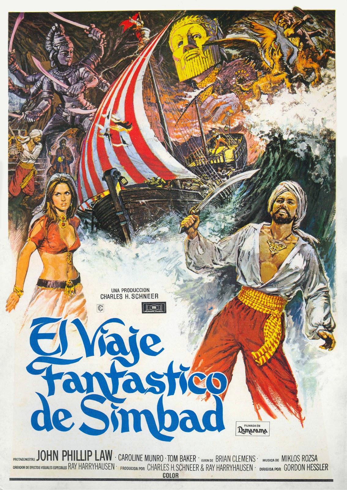 El Viaje Fantástico De Simbad (1973)
