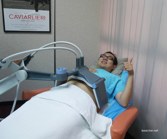 Slimming BTL Vanquish Treatment @ EN-HANZE, Aesthetics Centre Phileo Damansara