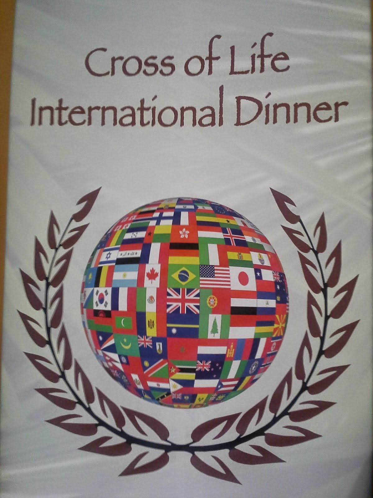 Cross of Life Church International Dinner