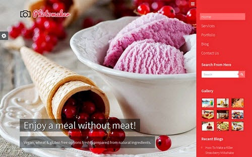 PhotoMaker Free Photography WordPress Theme