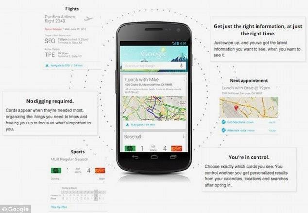 ثورة جديدة في عالم الأجهزة الذكية: جوجل ستعرف ما تريده قبل أن تطلبه !