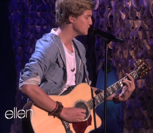 Cody Simpson wearing Jenny Dayco bracelets and necklace