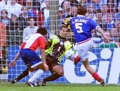 Gol de Laurent Blanc, França oitavas-de-finais da copa do mundo 1998