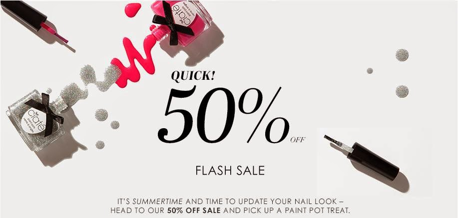 50% OFF Ciate Flash Sale (Select Items)