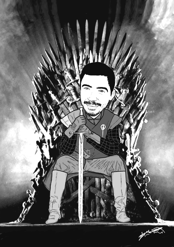 Game of Thrones  com caricaturas M2LOPES