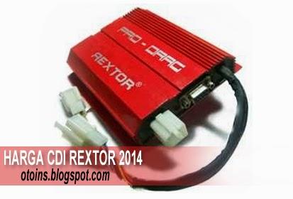 Rincian Harga CDI Rextor Pro Drag Terbaru 2015