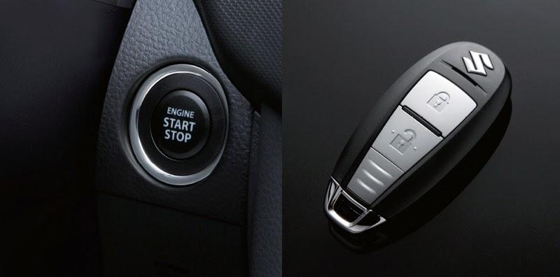 chìa  khóa thông minh của Suzuki swift