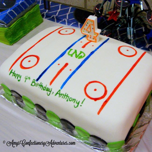 Amy S Confectionery Adventures Hockey Cakes