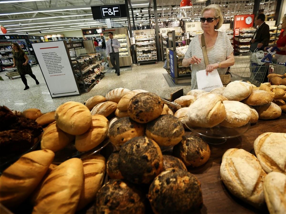 Отделы повышенного спроса в супермаркетах расположены недалеко от входа