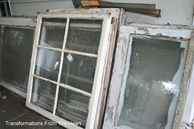 old windows frame project