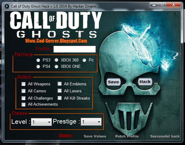 call of duty ghost aimbot hack