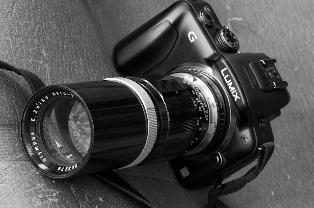 Kirk Tuck's G3 and Oly 150mm f4