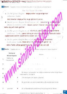 8.Sinif Turkce Enderun Yayinlari Calisma Kitabi Cevaplari Sayfa 17