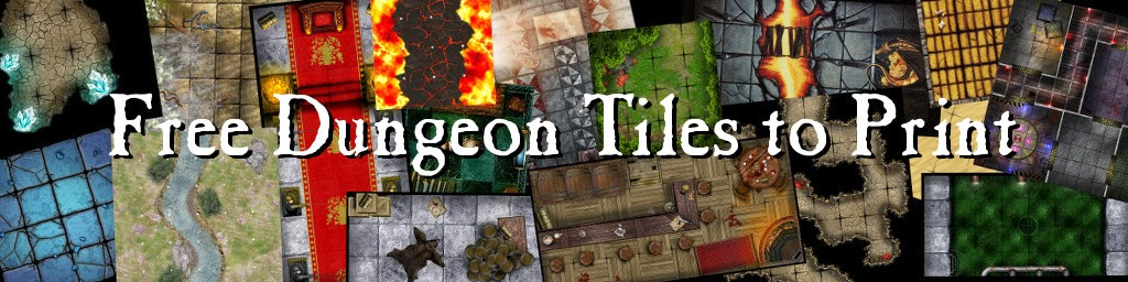 Free dungeon tiles to print