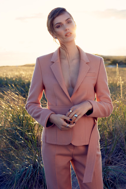 Spring pastels - Tatler Hong Kong fashion editorial