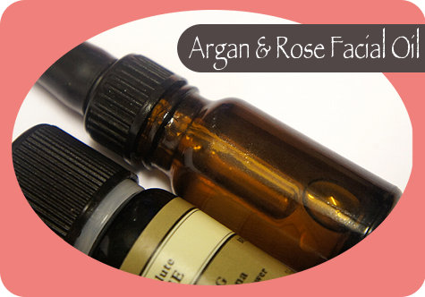 Homemade Skin Care Recipes - Bath and Beauty Recipe for Argan and Rose Facial Oil - Natural Bath and Beauty Recipes for Better Looking Skin