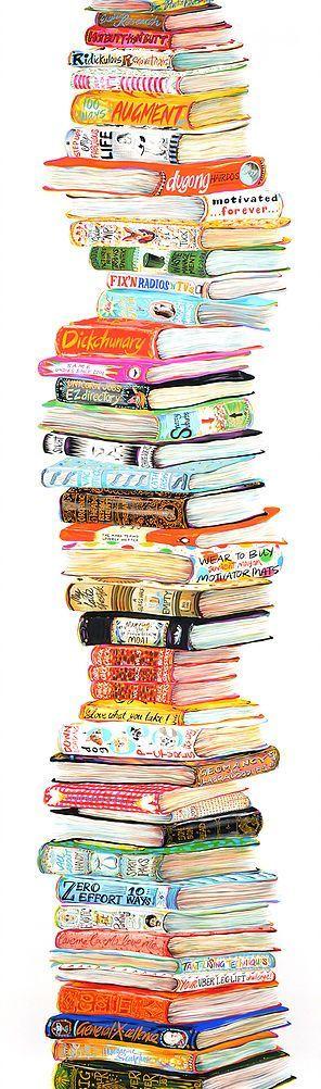 Atât de multe cărți!