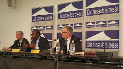 Remarks by former President Jonathan in Geneva, talks about his achievements while in office