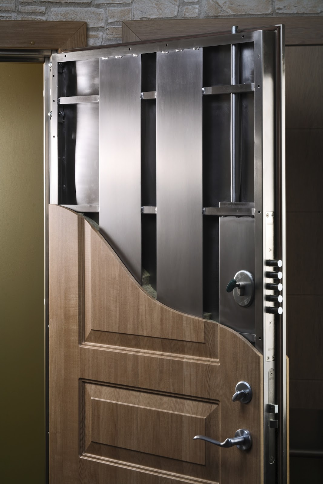 Security Safe Door