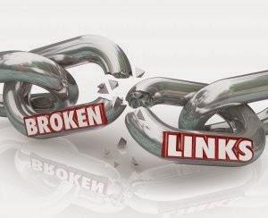 Pengaruh LINK RUSAK ( Broken Link ) di Blog