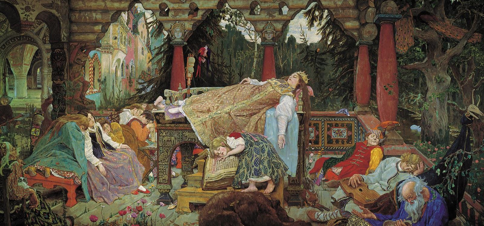 Coloriage Belle au bois dormant TFOU - coloriage la belle au bois dormant