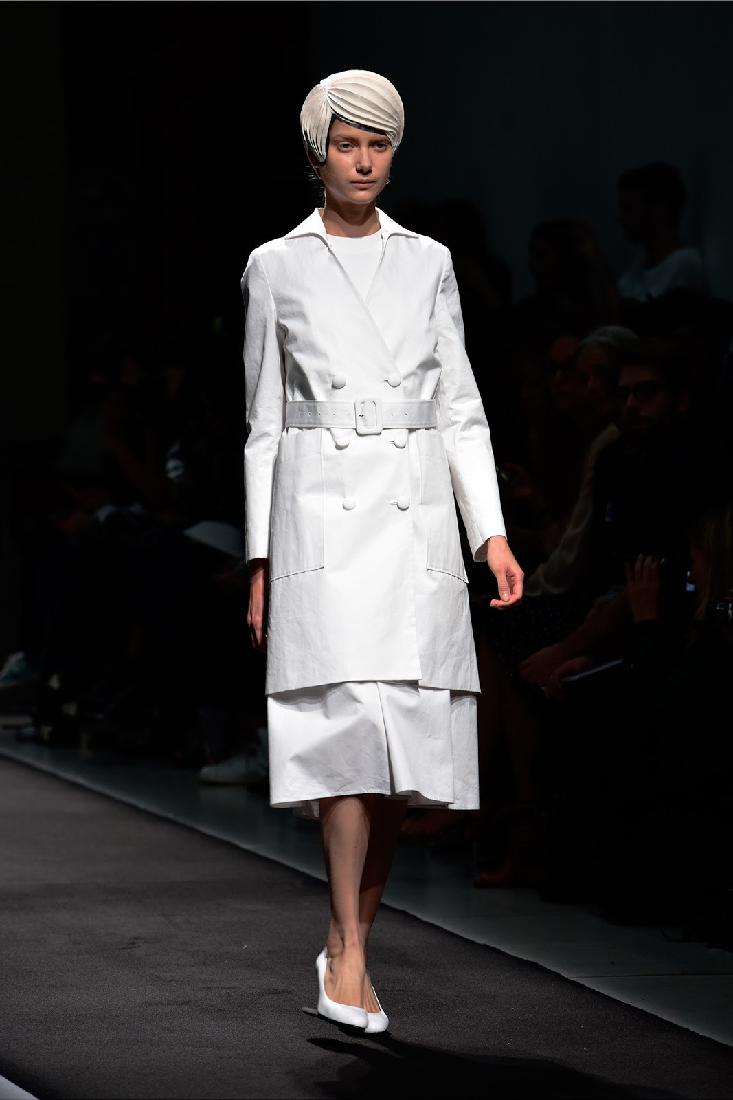 Kunihiko Morinaga | Anrealage Spring/Summer 2015 collection | Paris fashion week