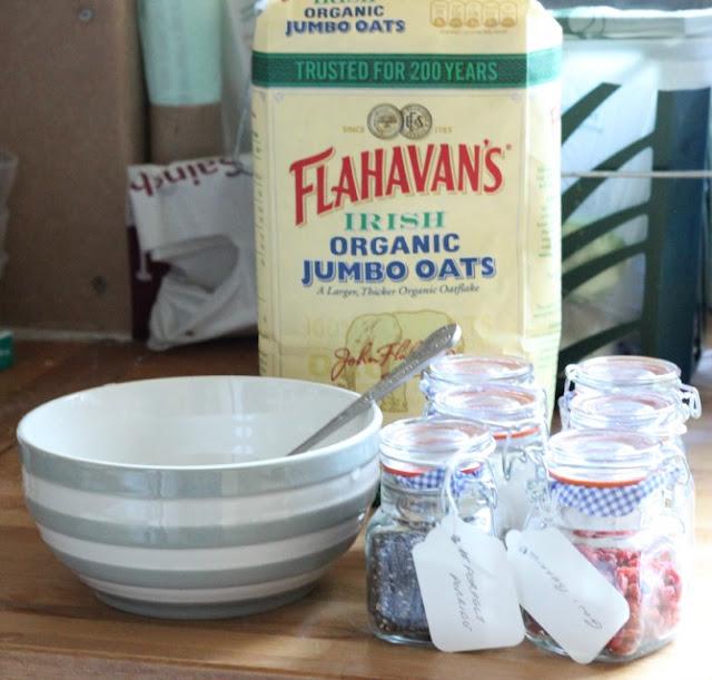 Flahavan's Irish Jumbo Porridge Oats to create my #PerfectPorridge