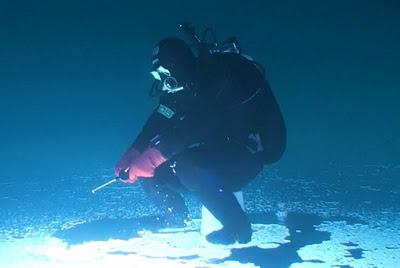 الصيد تحت سطح الجليد-منتهى