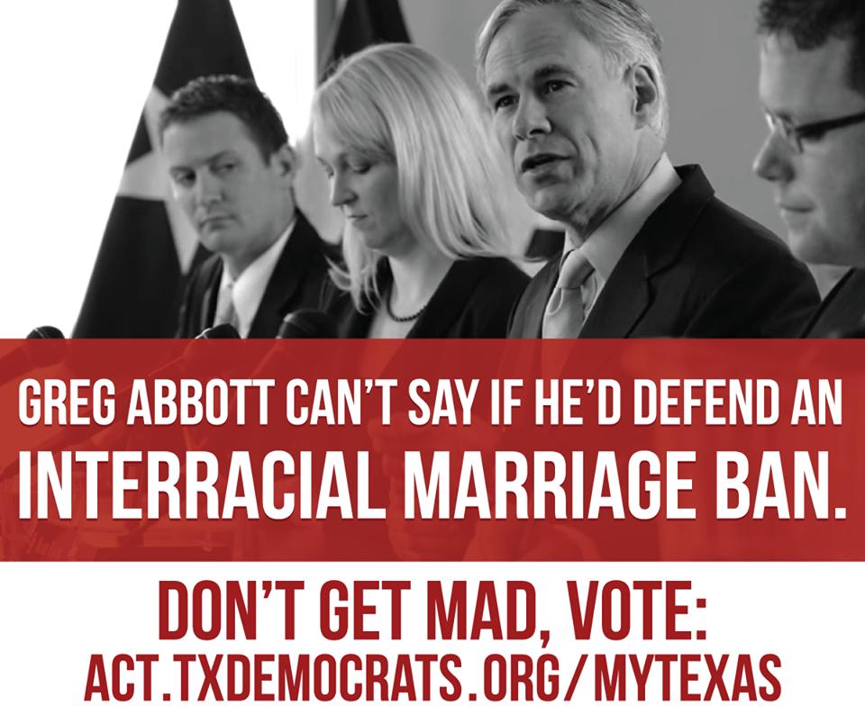 Texas ban on interracial marriage
