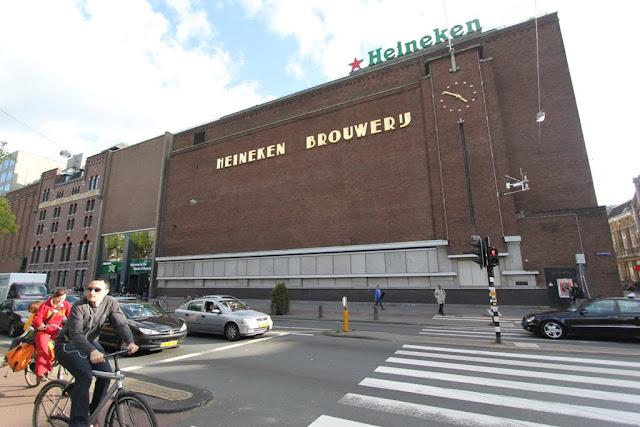 Heineken Experience Brewery in Amsterdam, Netherlands