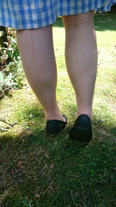 Sheer Seamed Stockings - Trashy.com